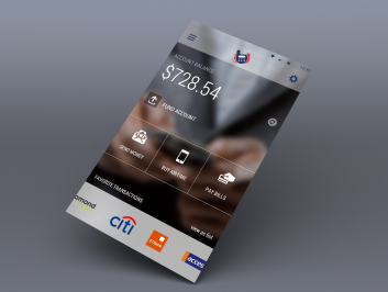 Banking user interface