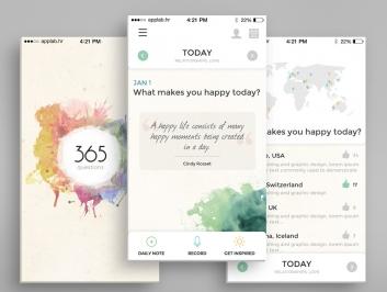 365 Questions calendar
